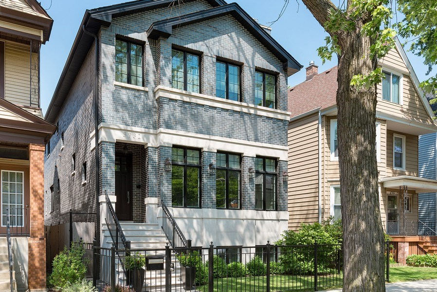 Real Estate Photography - 3932 N Bell Ave, Chicago, IL, 60618 - Front View
