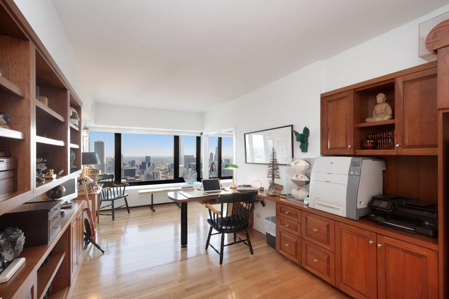 Real Estate Photography - 175 E DELAWARE PL, APT 7709-10, CHICAGO, IL, 60611 - Office