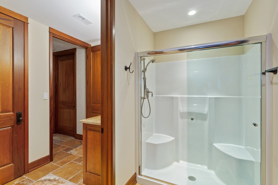 Real Estate Photography - 11001 Marquette Drive, New Buffalo, MI, 49117 - 4th Full Bath Lower Level