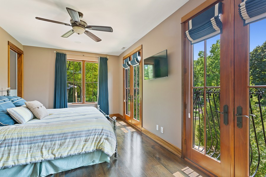 Real Estate Photography - 11001 Marquette Drive, New Buffalo, MI, 49117 - 2nd Bedroom Suite