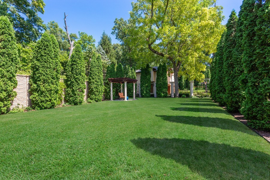 Real Estate Photography - 11001 Marquette Drive, New Buffalo, MI, 49117 - Private Courtyard Garden