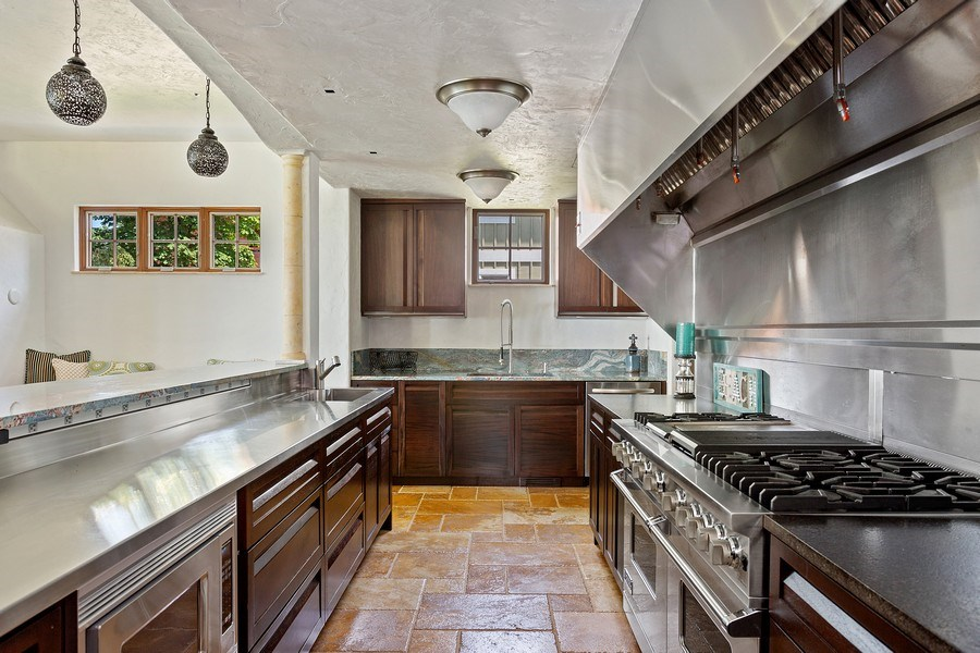 Real Estate Photography - 11001 Marquette Drive, New Buffalo, MI, 49117 - Kitchen