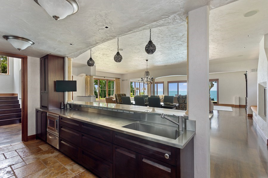 Real Estate Photography - 11001 Marquette Drive, New Buffalo, MI, 49117 - Kitchen