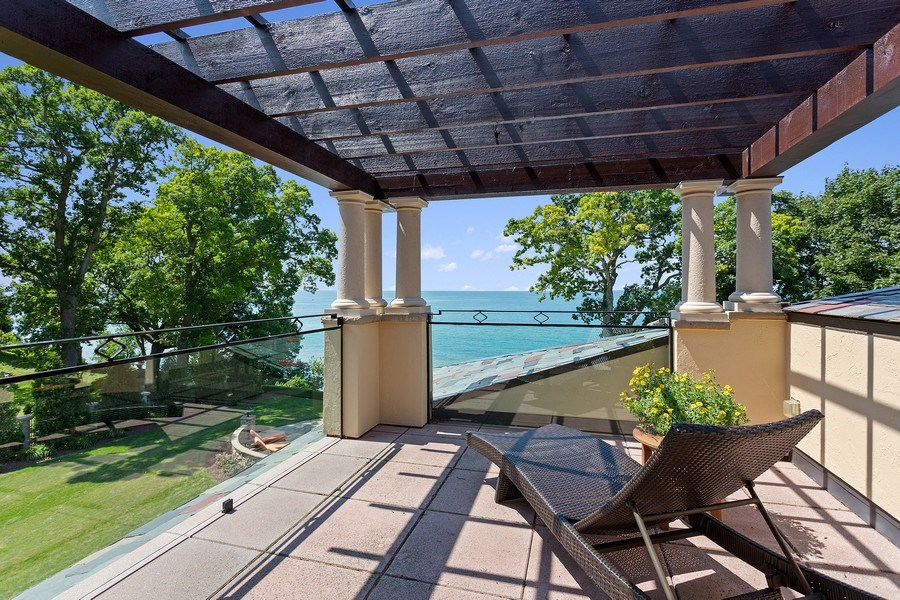 Real Estate Photography - 11001 Marquette Drive, New Buffalo, MI, 49117 - 3rd Level Terrace