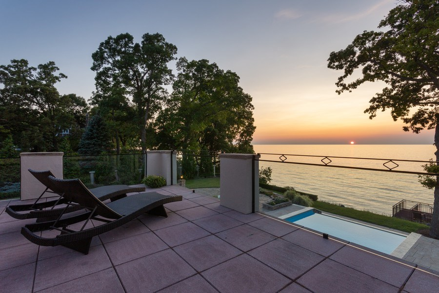Real Estate Photography - 11001 Marquette Drive, New Buffalo, MI, 49117 - 2nd Level Terrace