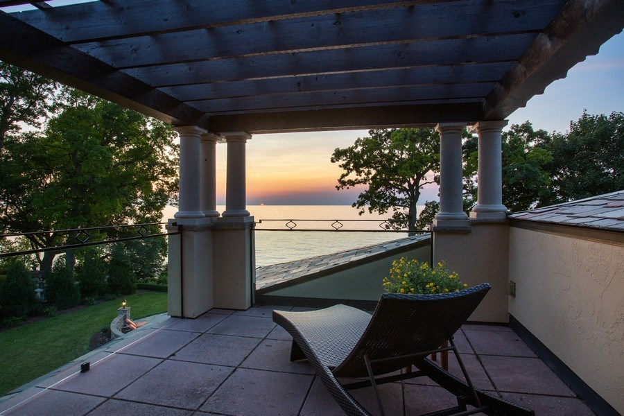 Real Estate Photography - 11001 Marquette Drive, New Buffalo, MI, 49117 - 3rd Level Terrace