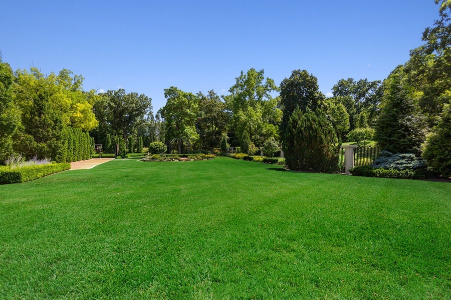 Real Estate Photography - 11001 Marquette Drive, New Buffalo, MI, 49117 - Front yard to gardens