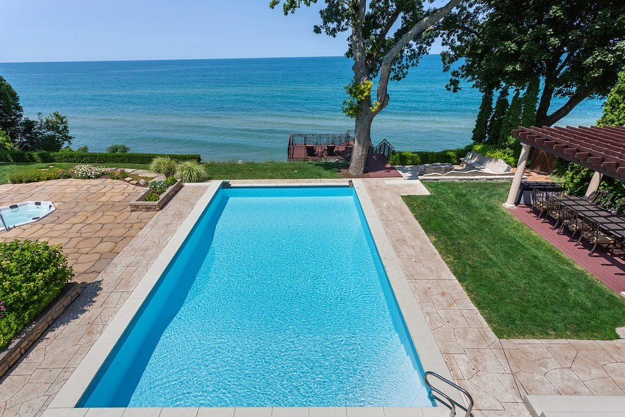 Real Estate Photography - 11001 Marquette Drive, New Buffalo, MI, 49117 - Pool