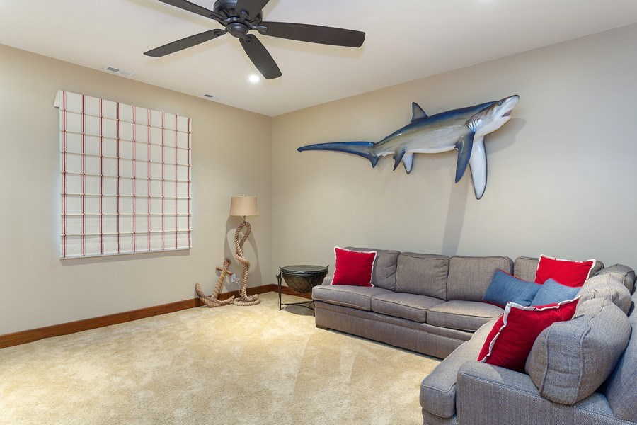 Real Estate Photography - 11001 Marquette Drive, New Buffalo, MI, 49117 - Family Room Lower Level