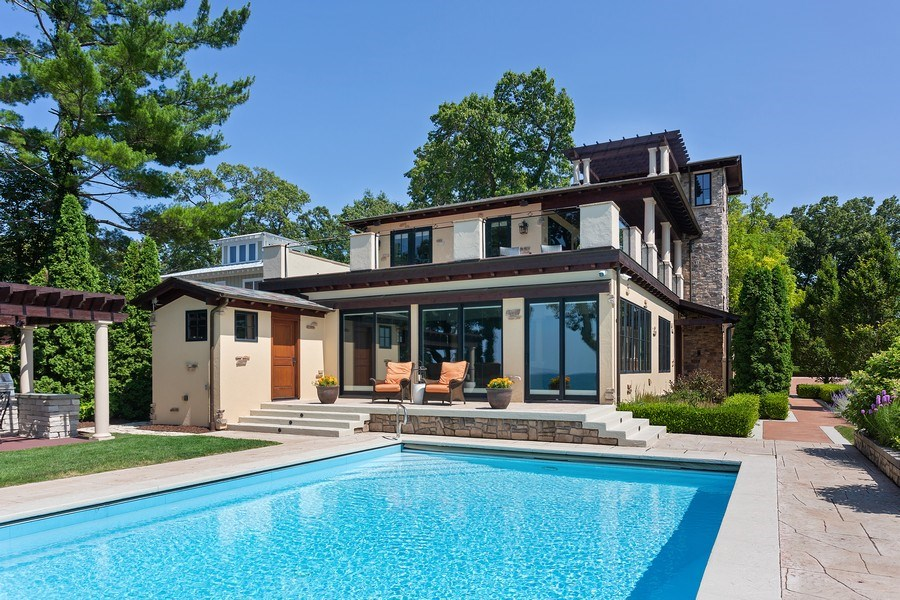 Real Estate Photography - 11001 Marquette Drive, New Buffalo, MI, 49117 - Front View