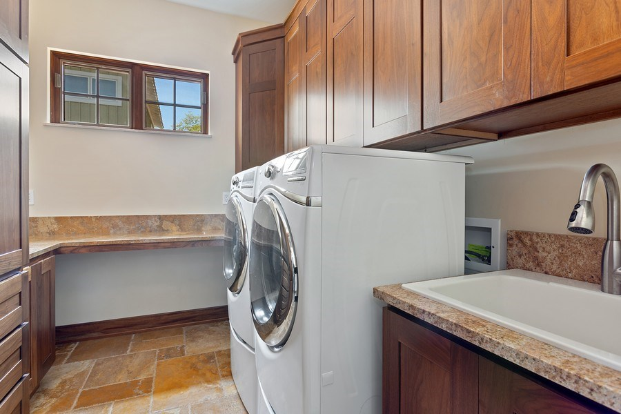 Real Estate Photography - 11001 Marquette Drive, New Buffalo, MI, 49117 - Laundry Main Level