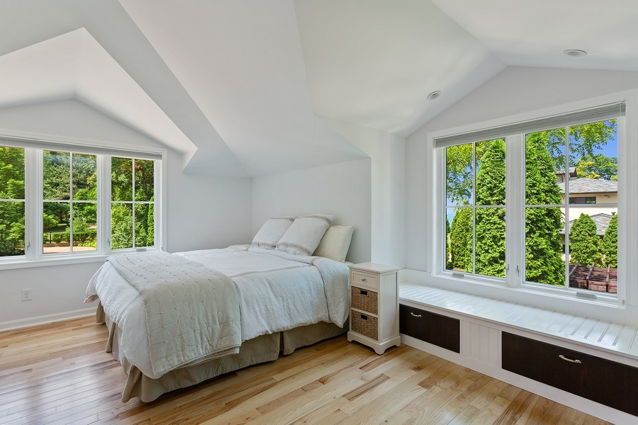 Real Estate Photography - 11001 Marquette Drive, New Buffalo, MI, 49117 - Coach House Guest Bedroom