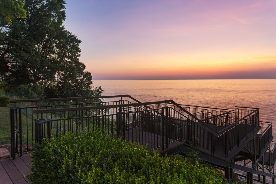 Real Estate Photography - 11001 Marquette Drive, New Buffalo, MI, 49117 - Deck