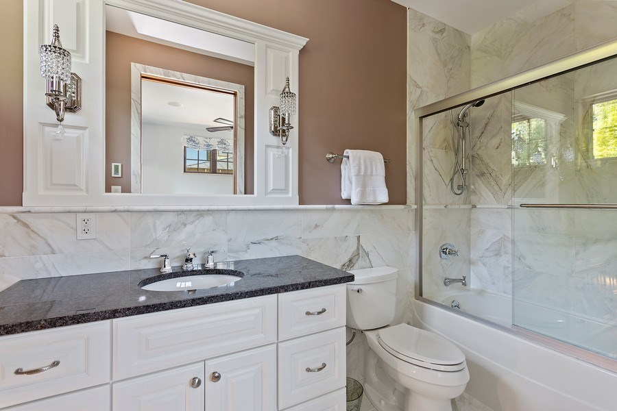 Real Estate Photography - 11001 Marquette Drive, New Buffalo, MI, 49117 - 3rd Bedroom Suite Bath