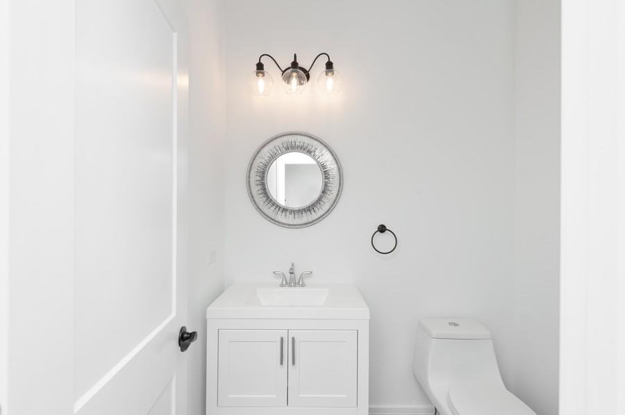 Real Estate Photography - 425 S Circle Ave, Port Barrington, IL, 60010 - Half Bath
