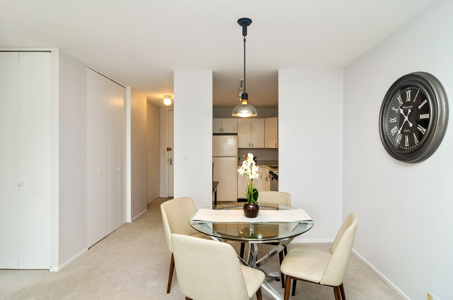 Real Estate Photography - 2020 N Lincoln Park West, Unit 14C, Chicago, IL, 60614 - Dining Room