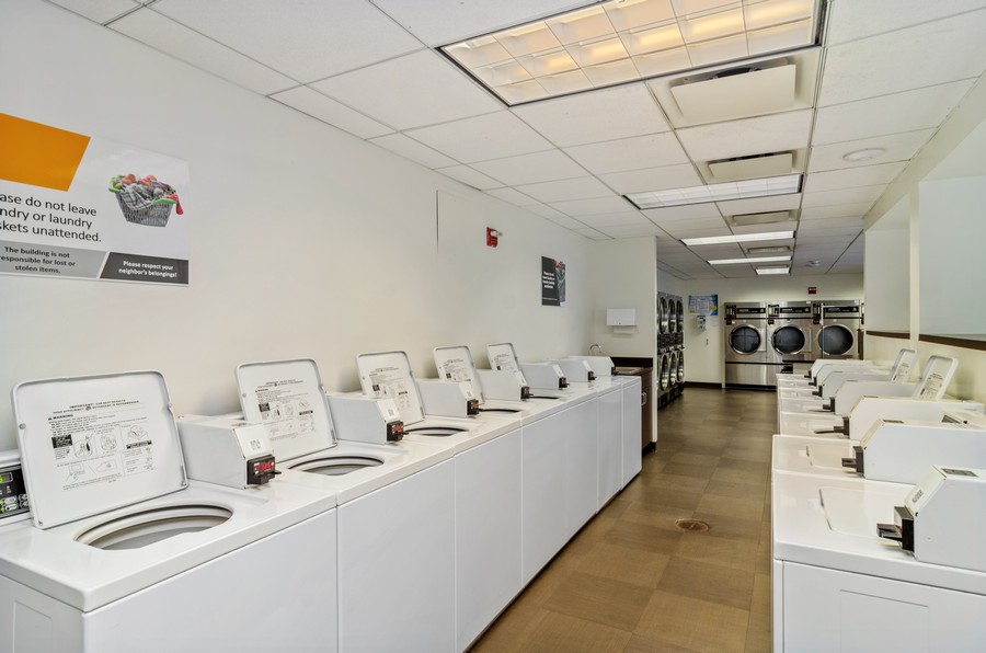 Real Estate Photography - 2020 N Lincoln Park West, Unit 14C, Chicago, IL, 60614 - Laundry Room