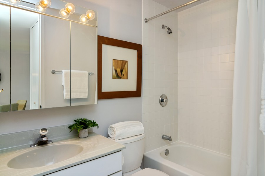 Real Estate Photography - 2020 N Lincoln Park West, Unit 14C, Chicago, IL, 60614 - Bathroom