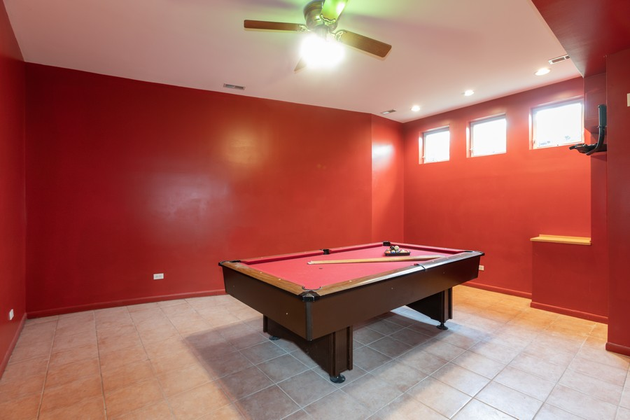 Real Estate Photography - 4339 S Oakenwald Ave., Chicago, IL, 60653 - Pool Room