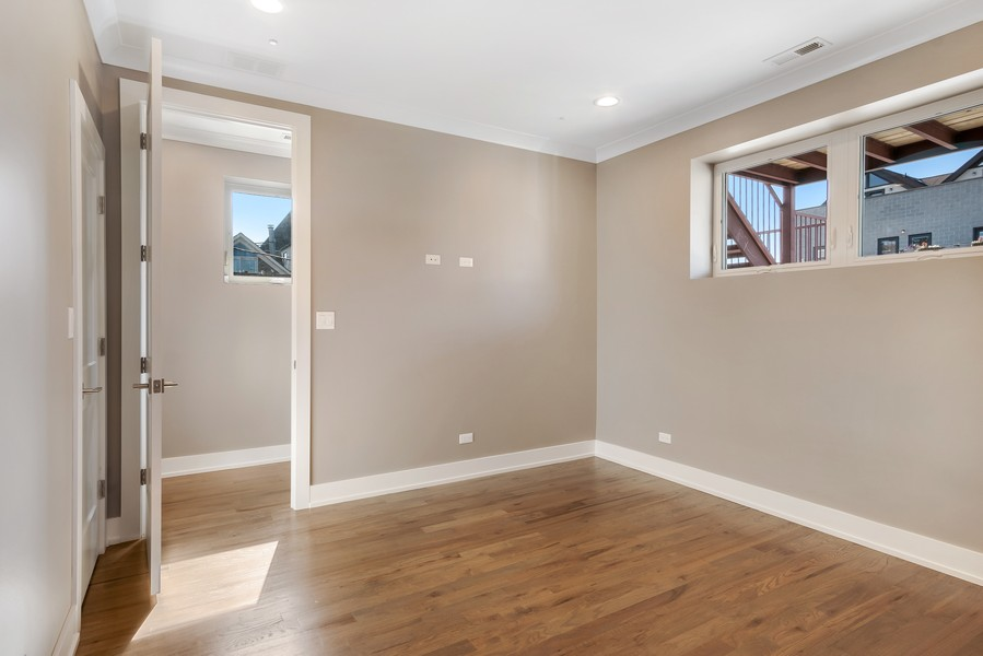 Real Estate Photography - 1415 W Walton St, #2, Chicago, IL, 60642 - Master Bedroom