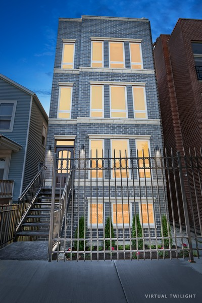 Real Estate Photography - 1415 W Walton St, #2, Chicago, IL, 60642 - Front View