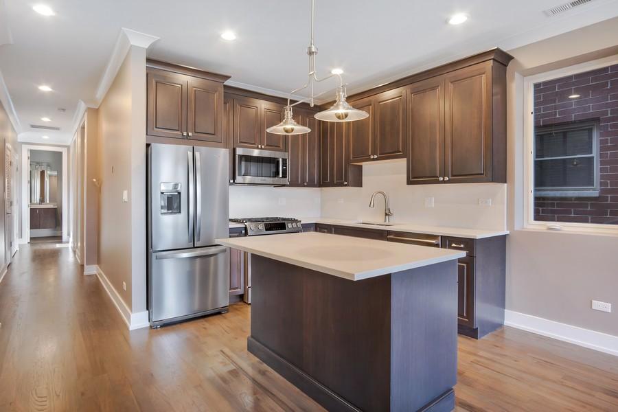 Real Estate Photography - 1415 W Walton St, #2, Chicago, IL, 60642 - Kitchen
