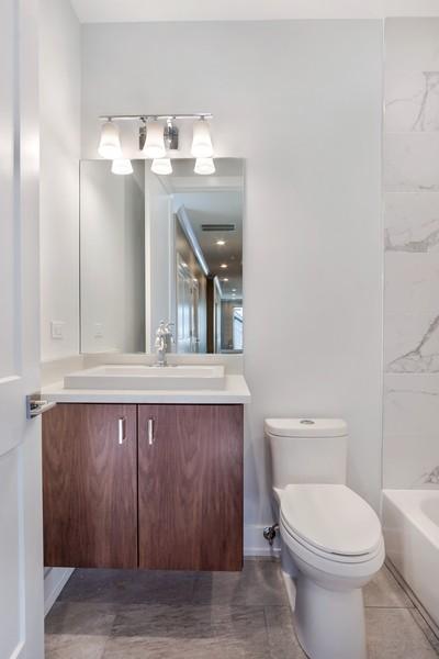 Real Estate Photography - 1415 W Walton St, #2, Chicago, IL, 60642 - Bathroom