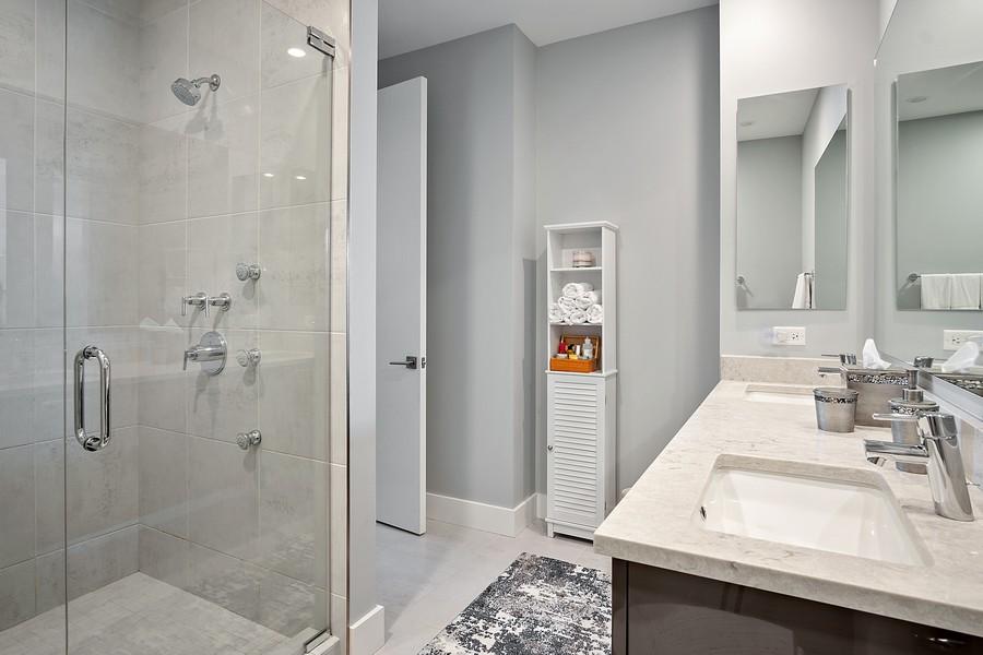 Real Estate Photography - 367 W Locust St, Unit 504, Chicago, IL, 60610 - Master Bathroom