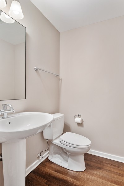Real Estate Photography - 500 W Superior, 1305, Chicago, IL, 60654 - Powder Room