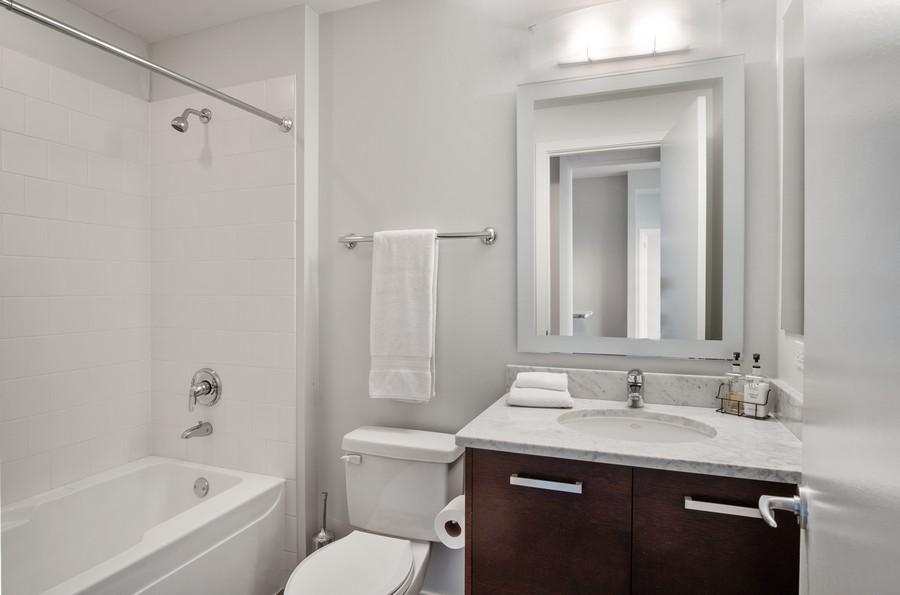 Real Estate Photography - 500 W Superior, 1305, Chicago, IL, 60654 - Bathroom