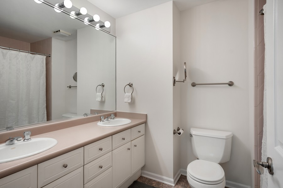 Real Estate Photography - 1349 S. Clark, Chicago, IL, 60618 - Master Bathroom