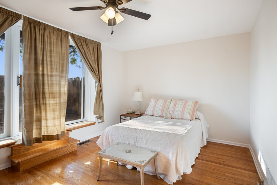 Real Estate Photography - 1349 S. Clark, Chicago, IL, 60618 - 2nd Bedroom