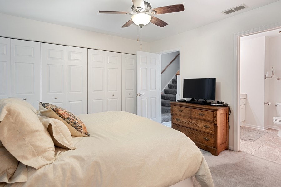 Real Estate Photography - 1349 S. Clark, Chicago, IL, 60618 - Master Bedroom