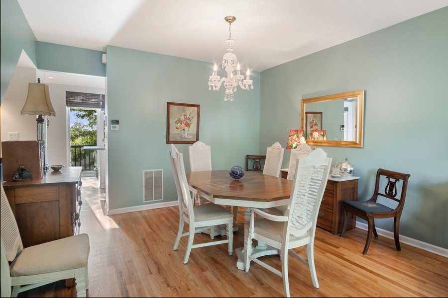Real Estate Photography - 1349 S. Clark, Chicago, IL, 60618 - Dining Area