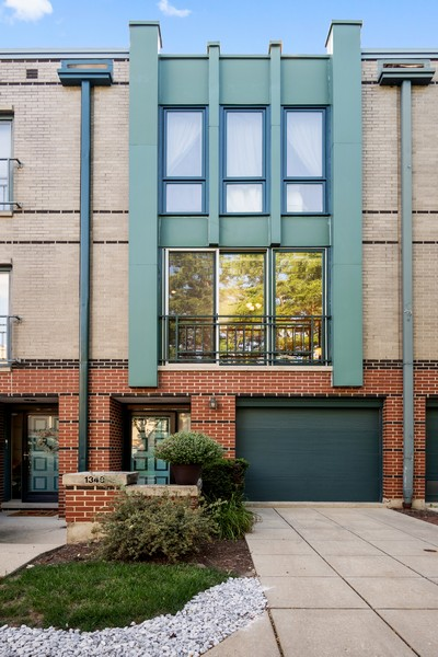 Real Estate Photography - 1349 S. Clark, Chicago, IL, 60618 - Front View