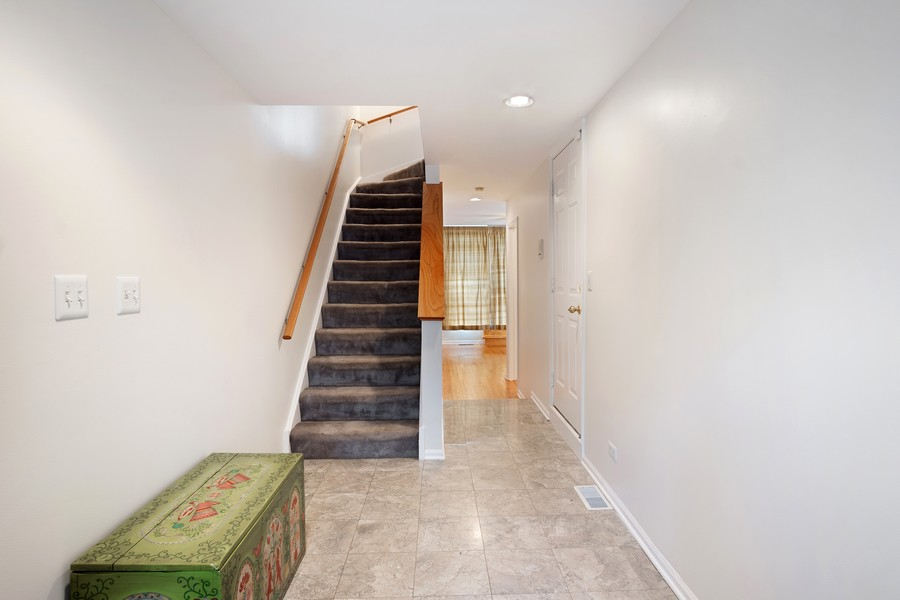 Real Estate Photography - 1349 S. Clark, Chicago, IL, 60618 - Staircase