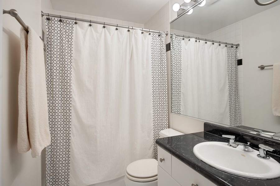 Real Estate Photography - 1349 S. Clark, Chicago, IL, 60618 - Bathroom