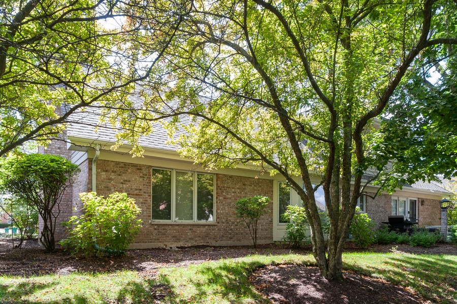 Real Estate Photography - 363 Rivershire Ct, Lincolnshire, IL, 60069 - Rear View