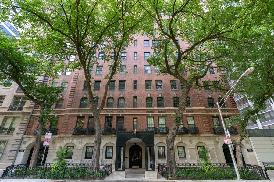 Real Estate Photography - 210 E Pearson St, Unit 7A, Chicago, IL, 60611 - Front View