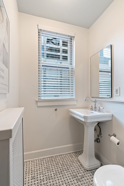 Real Estate Photography - 210 E Pearson St, Unit 7A, Chicago, IL, 60611 - 2nd Bathroom