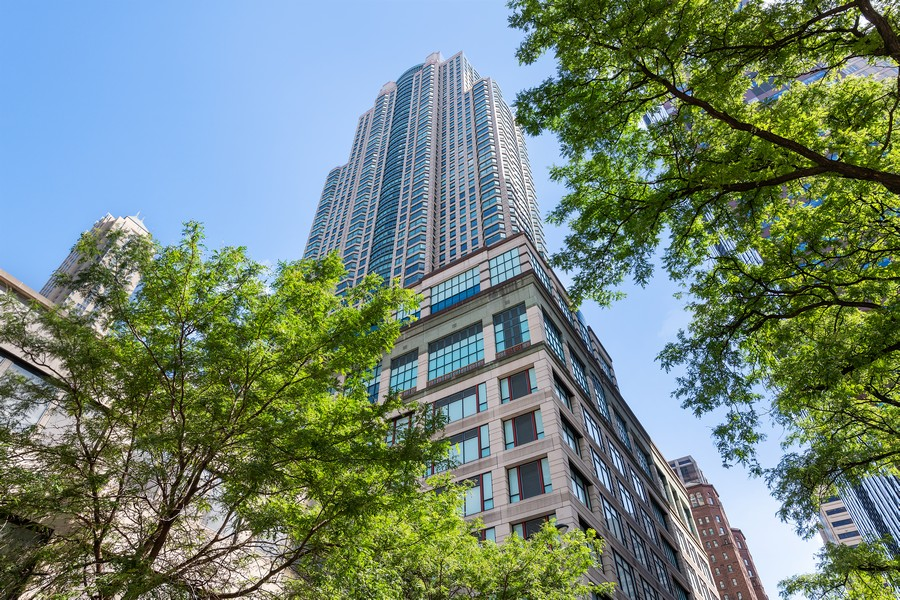 Real Estate Photography - 100 E Huron, 3702, Chicago, IL, 60611 - Front View