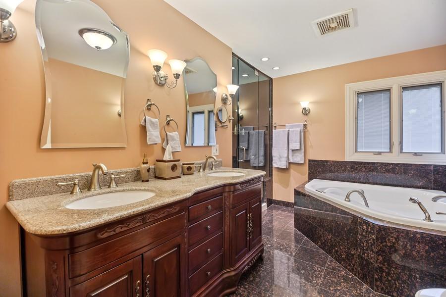 Real Estate Photography - 2316 Sumac Circle, Glenview, IL, 60025 - Master Bathroom