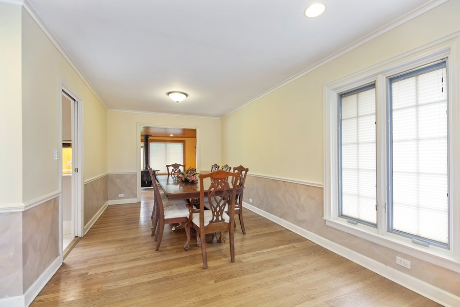 Real Estate Photography - 2316 Sumac Circle, Glenview, IL, 60025 - Dining Room