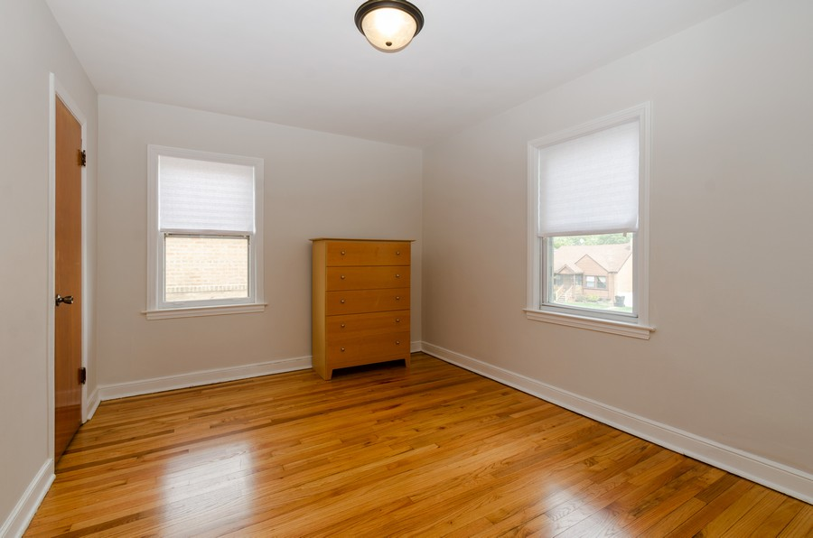 Real Estate Photography - 10758 Homan, Chicago, IL, 60655 - Bedroom
