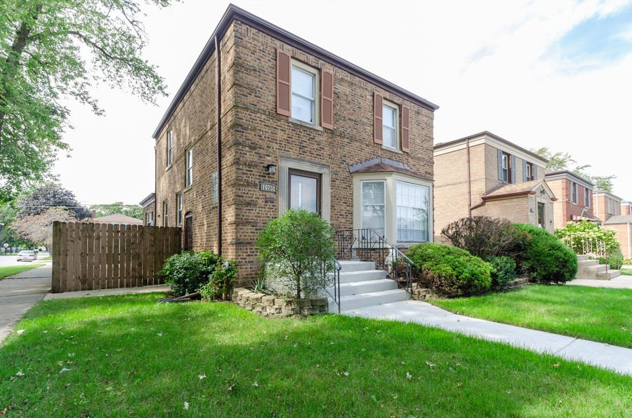 Real Estate Photography - 10758 Homan, Chicago, IL, 60655 - Front View