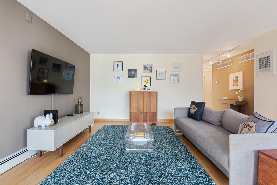 Real Estate Photography - 1310 Ritchie Court, 10B, Chicago, IL, 60610 - Living Room