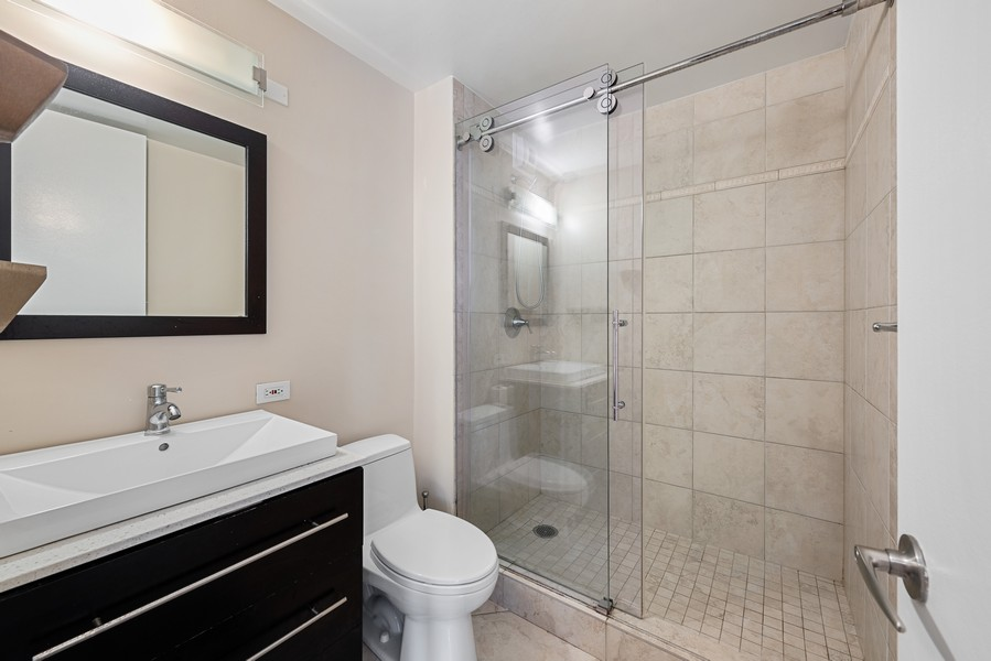 Real Estate Photography - 1310 Ritchie Court, 10B, Chicago, IL, 60610 - Master Bathroom