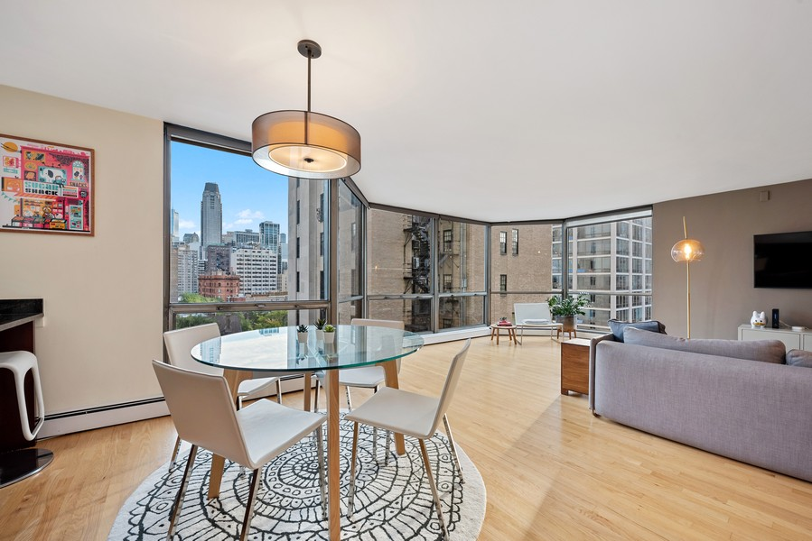 Real Estate Photography - 1310 Ritchie Court, 10B, Chicago, IL, 60610 - Dining Room