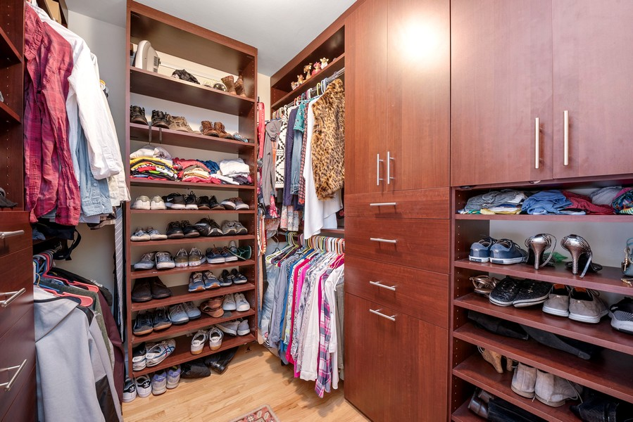 Real Estate Photography - 1310 Ritchie Court, 10B, Chicago, IL, 60610 - Master Bedroom Closet
