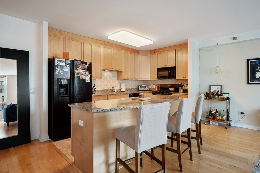 Real Estate Photography - 33 W. Ontario, 26H, Chicago, IL, 60654 - Kitchen
